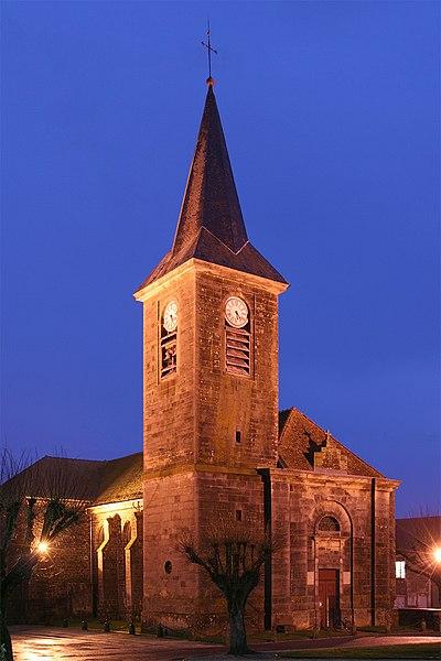 Photo du Monument Historique Eglise situé à Terre-Natale