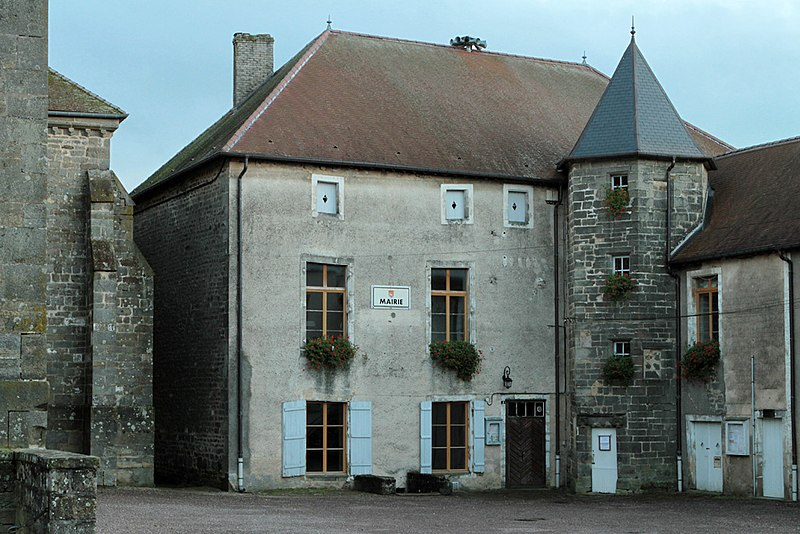 Photo du Monument Historique Mairie de Varennes-sur-Amance situé à Terre-Natale