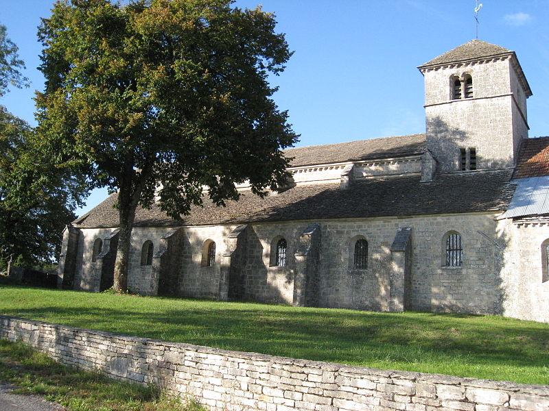 Photo du Monument Historique Eglise Saint-Symphorien d'Aubigny situé à Vaux-sous-Aubigny