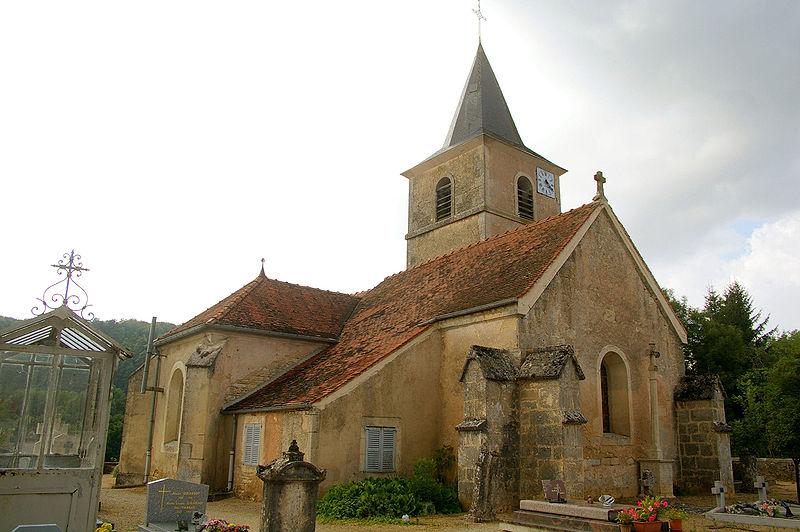 Photo du Monument Historique Eglise de Santenoge situé à Villars-Santenoge