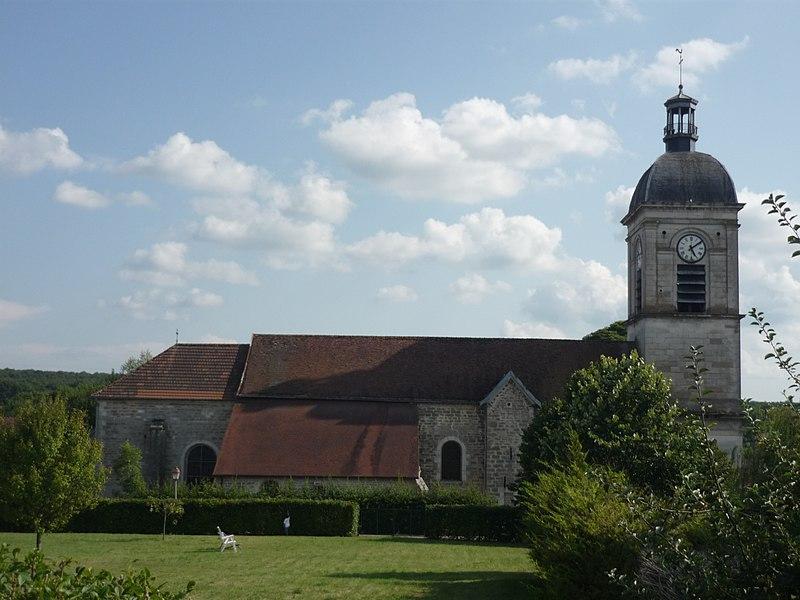 Photo du Monument Historique Eglise situé à Dancevoir