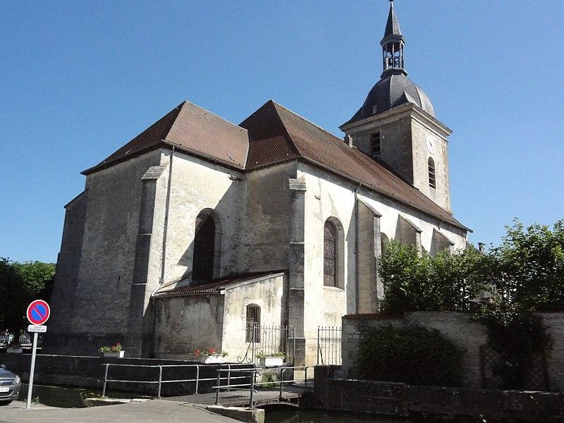 Photo du Monument Historique Eglise Saint-Martin situé à Doulaincourt-Saucourt
