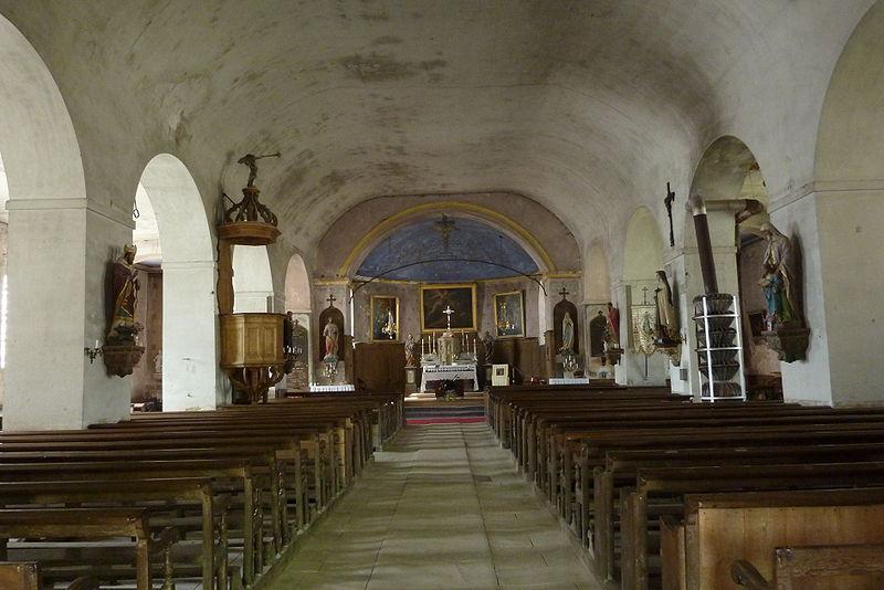 Photo du Monument Historique Eglise Saint-Pierre-Saint-Paul situé à Rimaucourt