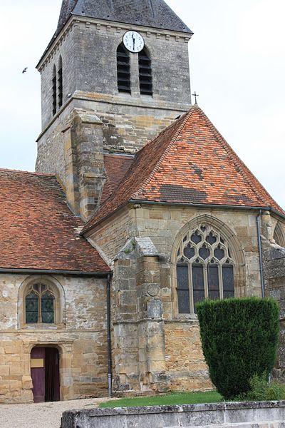 Photo du Monument Historique Eglise Sainte-Marie situé à Longeville-sur-la-Laines