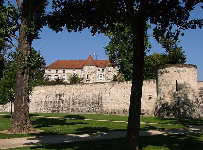 Photo du Monument Historique Château de Saint-Dizier situé à Saint-Dizier
