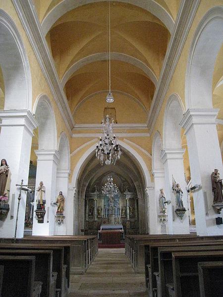 Photo du Monument Historique Eglise Saint-Pierre-ès-Liens situé à Baissey