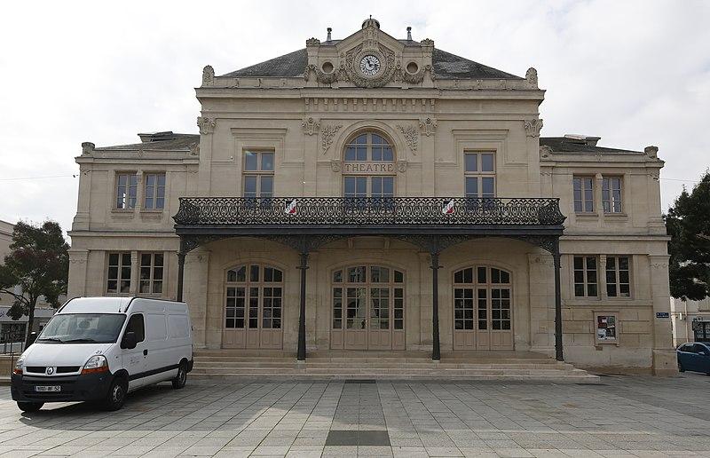 Photo du Monument Historique Théâtre municipal situé à Saint-Dizier