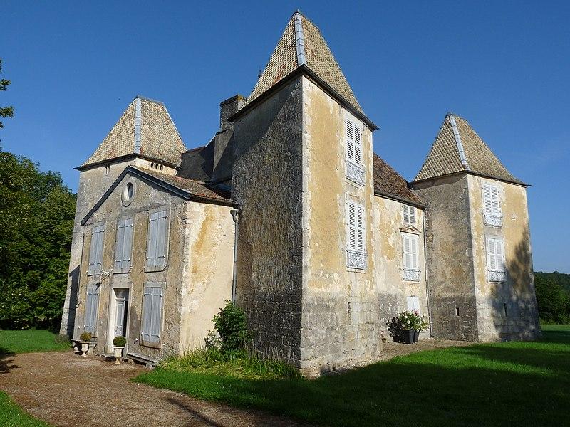 Photo du Monument Historique Château de Morteau situé à Cirey-lès-Mareilles