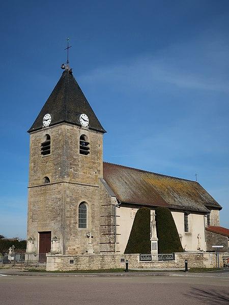 Photo du Monument Historique Eglise Saint-Simon et Saint-Jude situé à Planrupt