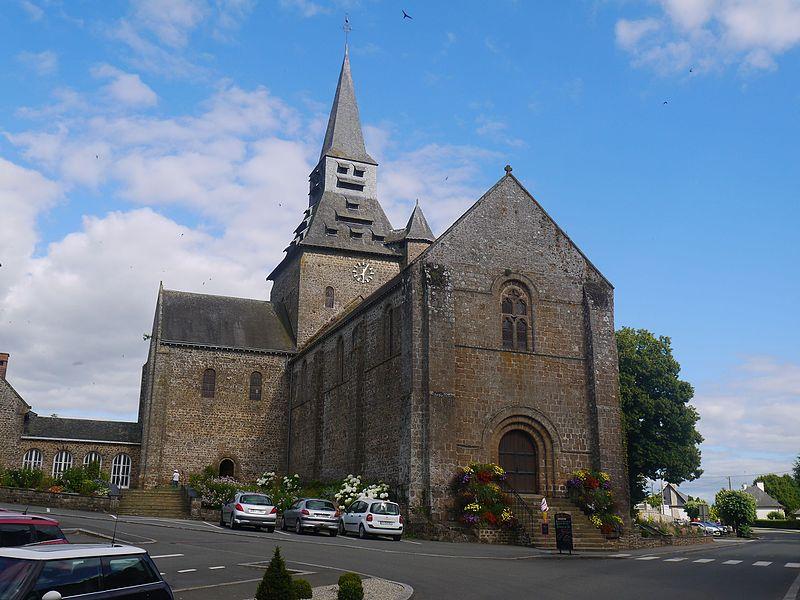 Photo du Monument Historique Eglise situé à Ambrières-les-Vallées