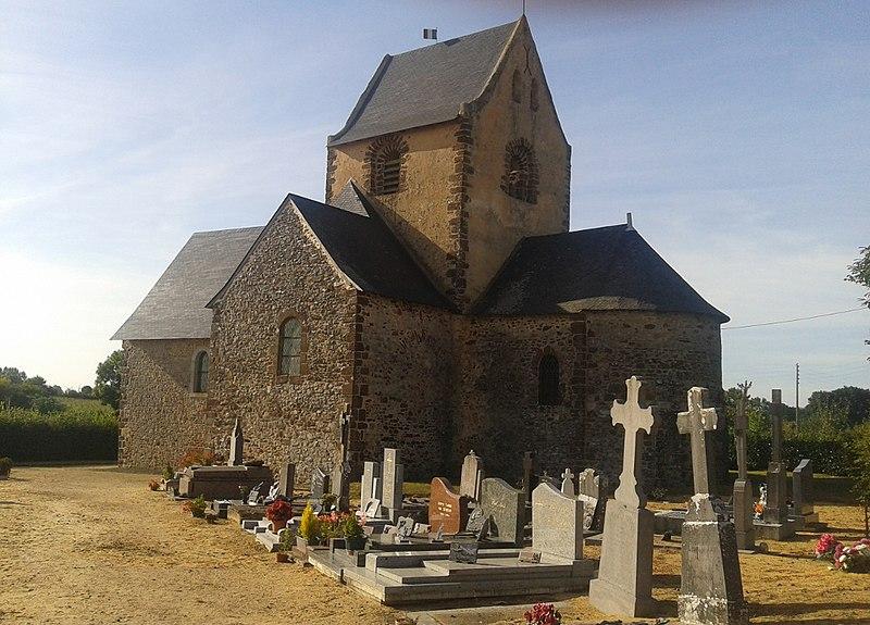Photo du Monument Historique Eglise situé à Bannes