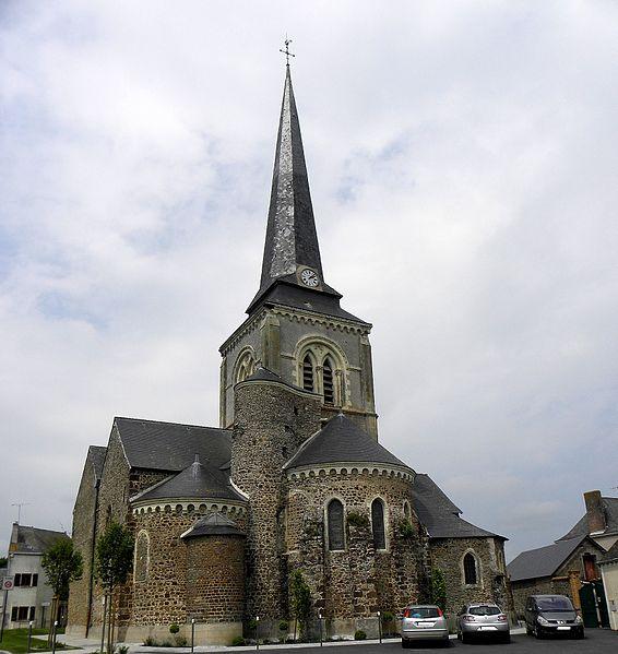 Photo du Monument Historique Eglise situé à Bazougers