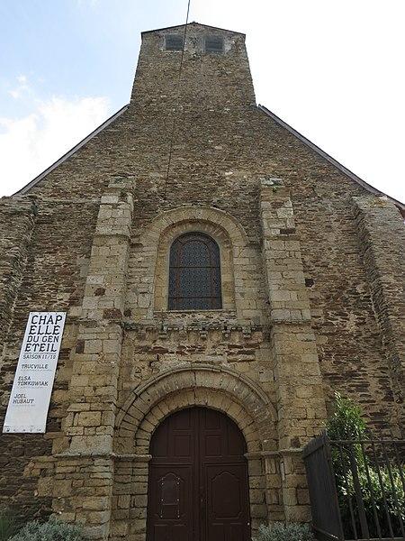Photo du Monument Historique Chapelle du Genneteil situé à Château-Gontier