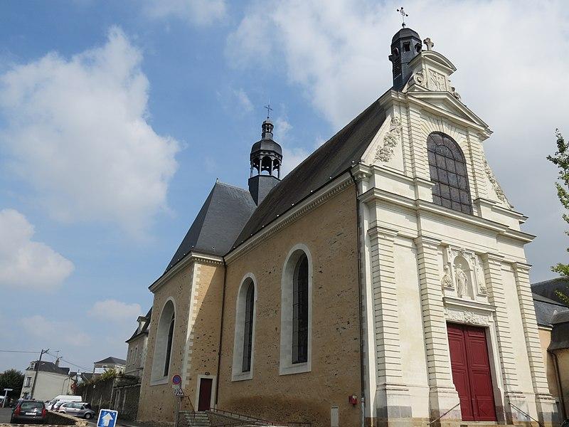 Photo du Monument Historique Eglise de la Trinité situé à Château-Gontier