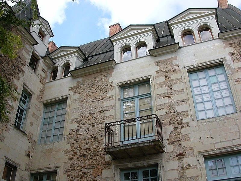 Photo du Monument Historique Hôtel dit de Lantivy situé à Château-Gontier