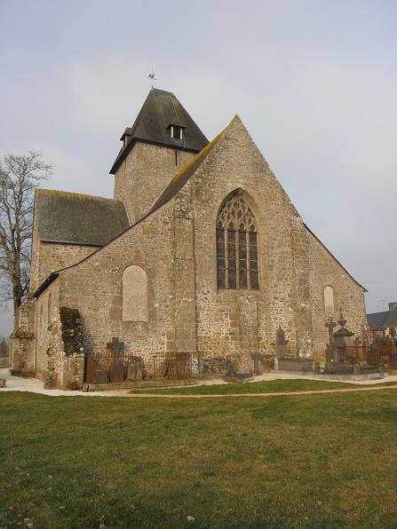 Photo du Monument Historique Chapelle de Charné situé à Ernée