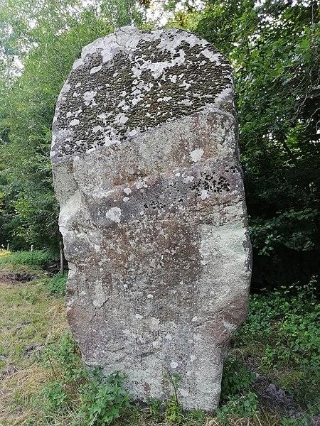 Photo du Monument Historique Menhir de la Roche situé à Gorron