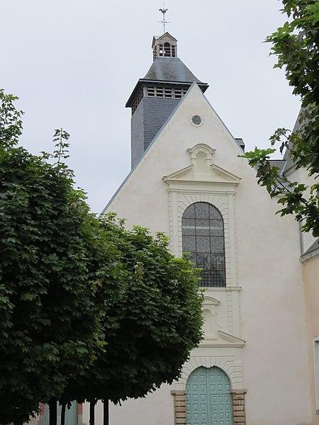 Photo du Monument Historique Chapelle du Lycée Ambroise Paré situé à Laval