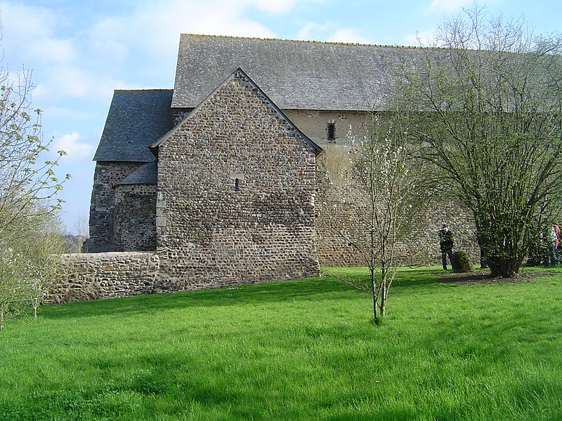 Photo du Monument Historique Chapelle Notre-Dame de Pritz situé à Laval