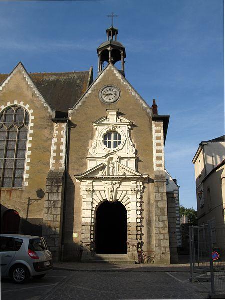 Photo du Monument Historique Eglise Notre-Dame des Cordeliers situé à Laval