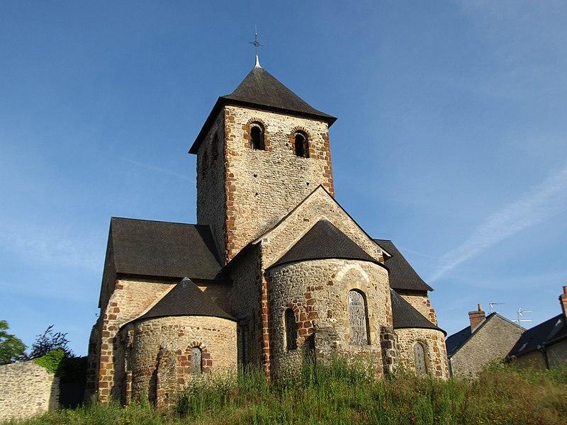 Photo du Monument Historique Ancienne église Saint-Martin situé à Laval