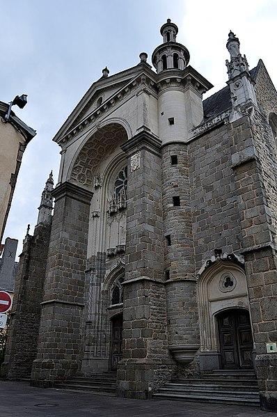 Photo du Monument Historique Eglise Saint-Vénérand situé à Laval