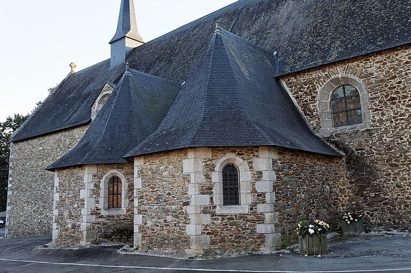 Photo du Monument Historique Chapelle des Calvairiennes situé à Mayenne