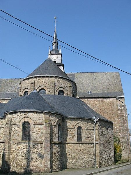 Photo du Monument Historique Eglise Saint-Martin situé à Mayenne