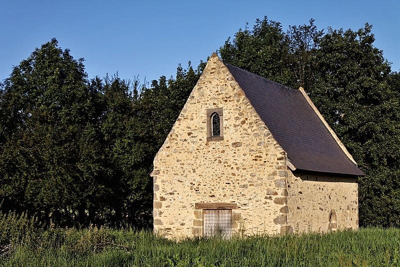 Photo du Monument Historique Chapelle Saint-Léonard (anciennement nommée Ferme Saint-Léonard) situé à Mayenne