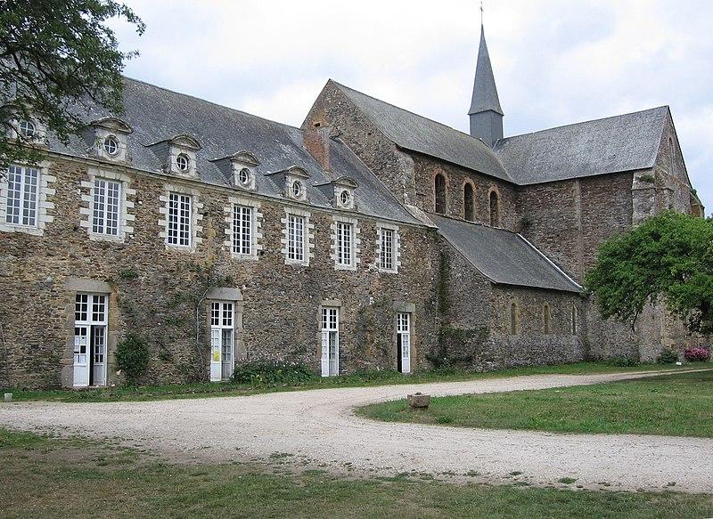 Photo du Monument Historique Ancienne abbaye cistercienne de Clermont situé à Olivet