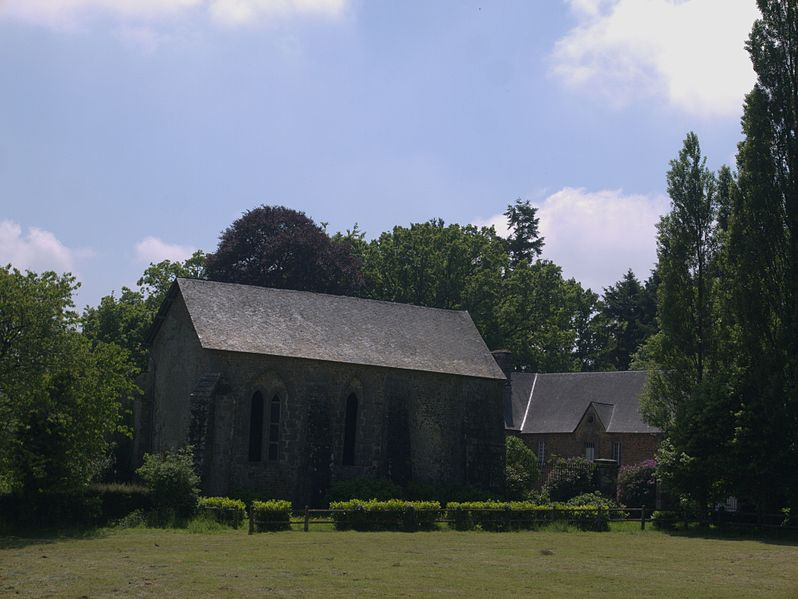 Photo du Monument Historique Prieuré Saint-Médard de la Futaie situé à Saint-Mars-sur-la-Futaie