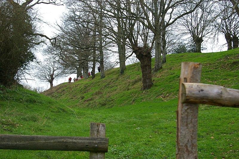 Photo du Monument Historique Camp de Beugy situé à Sainte-Suzanne