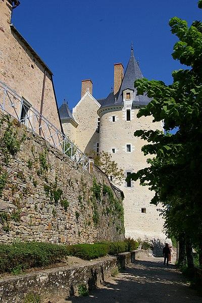 Photo du Monument Historique Château situé à Sainte-Suzanne