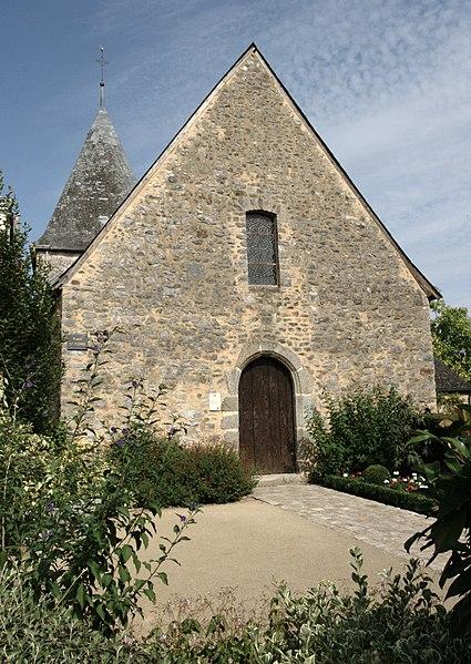 Photo du Monument Historique Eglise Saint-Pierre situé à Saulges
