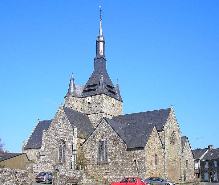 Photo du Monument Historique Eglise paroissiale situé à Brecé