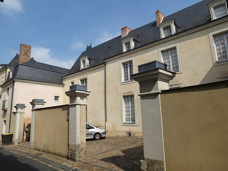 Photo du Monument Historique Hôtel dit de Saint-Luc situé à Château-Gontier