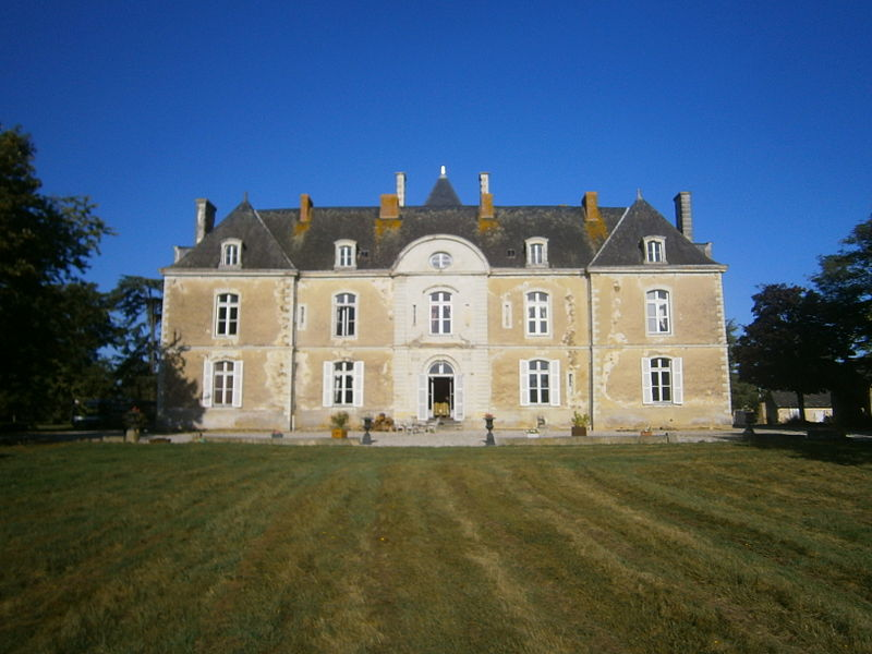 Photo du Monument Historique Château de Noirieux situé à Saint-Laurent-des-Mortiers