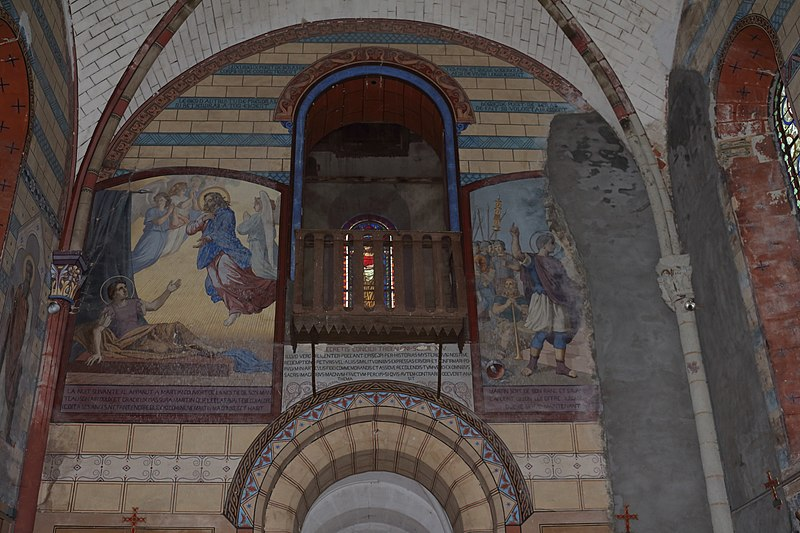 Photo du Monument Historique Eglise paroissiale Saint-Martin situé à Saint-Martin-du-Limet