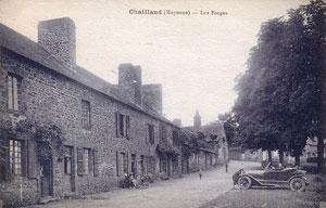 Photo du Monument Historique Grande Forge situé à Chailland