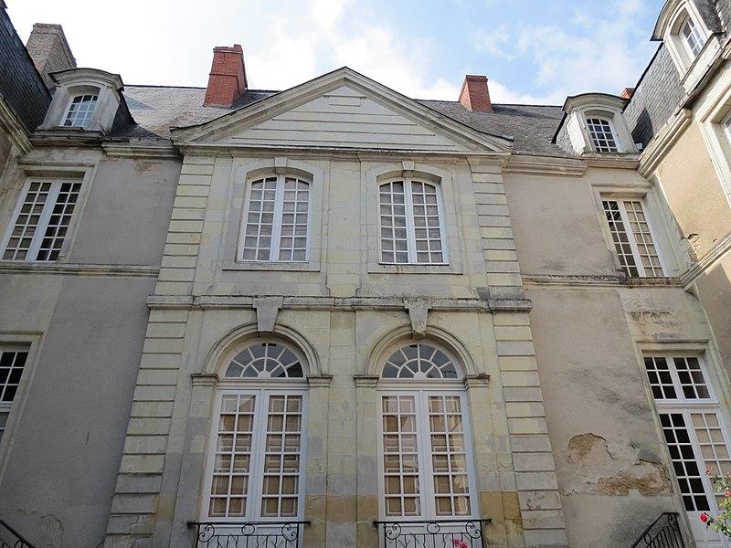 Photo du Monument Historique Hôtel du Tertre de Sancé situé à Château-Gontier