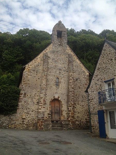 Photo du Monument Historique Eglise Saint-Pierre-le-Potier situé à Laval
