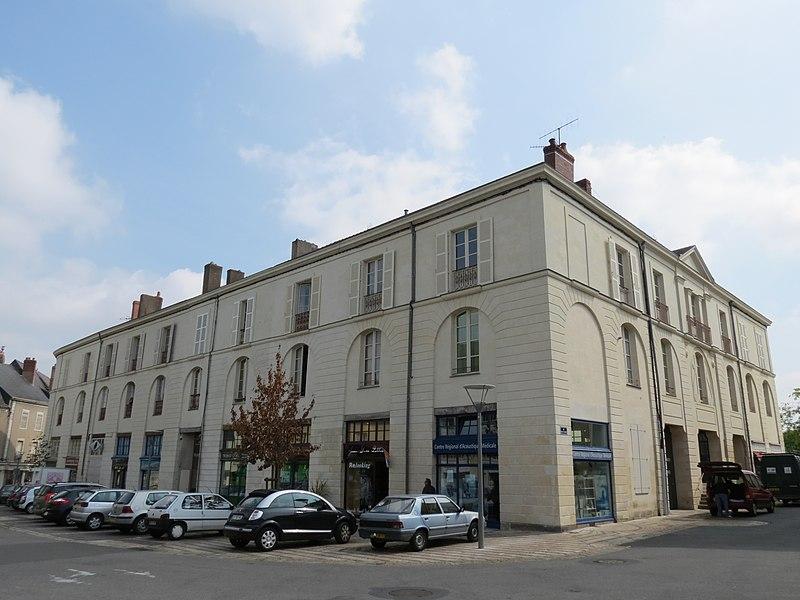 Photo du Monument Historique Halles situé à Château-Gontier