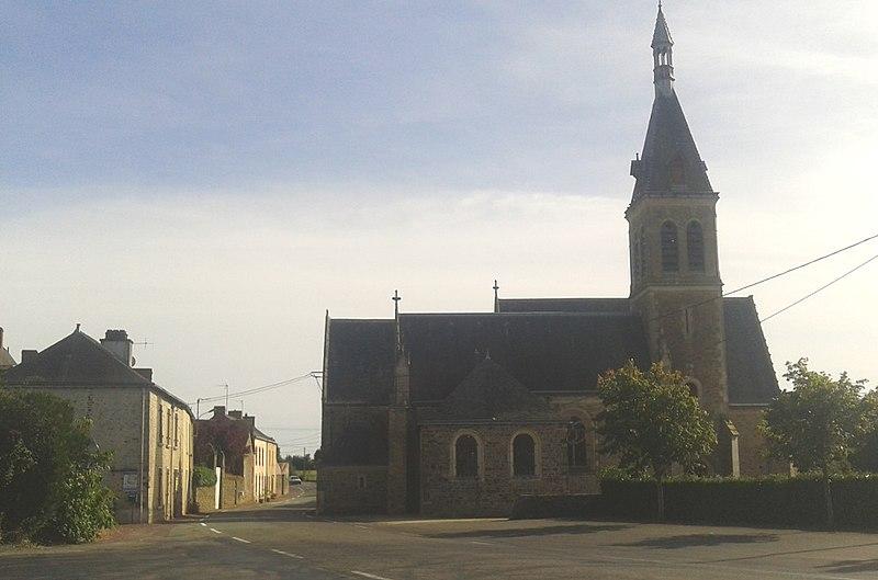 Photo du Monument Historique Eglise paroissiale Saint-Sixte situé à La Chapelle-Rainsouin