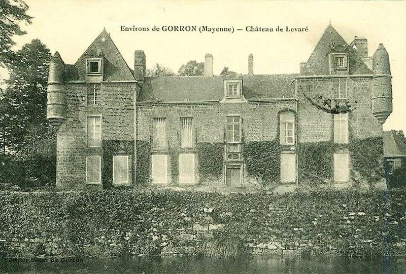 Photo du Monument Historique Château situé à Levaré