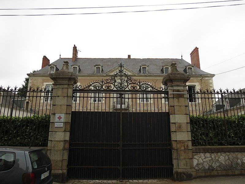 Photo du Monument Historique Hôtel d'Argentré situé à Laval