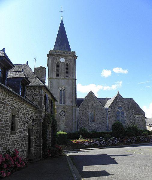 Photo du Monument Historique Eglise Saint-Martin situé à Châtillon-sur-Colmont