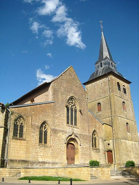 Photo du Monument Historique Eglise Saint-Gengoult situé à Briey