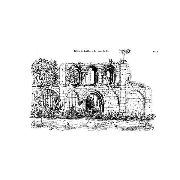 Photo du Monument Historique Abbaye de Haute-Veille (restes) situé à Cirey-sur-Vezouze