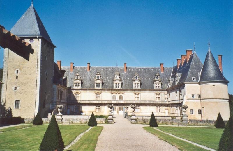 Photo du Monument Historique Château de Fléville situé à Fléville-devant-Nancy