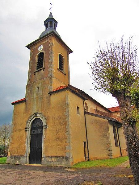 Photo du Monument Historique Eglise situé à Frouard